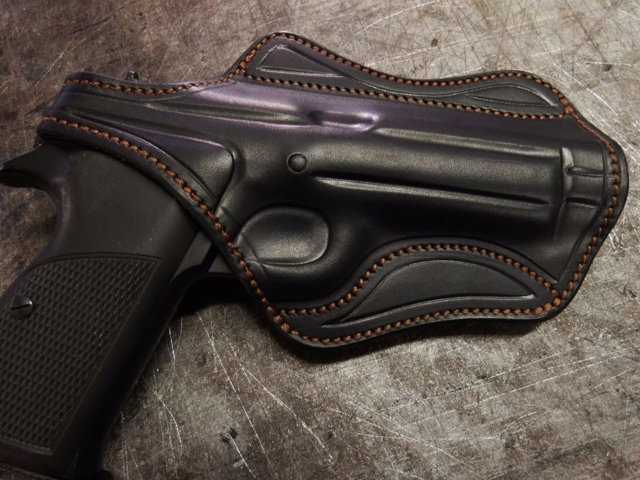 "HOLSTER d'AISSELLE : le ""MIAMI II"" by La SELLERIE Holste10"