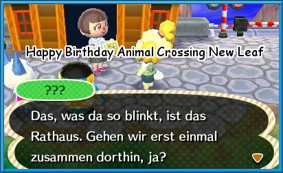 Animal Crossing New Leaf wird 5 Jahre Happyb10