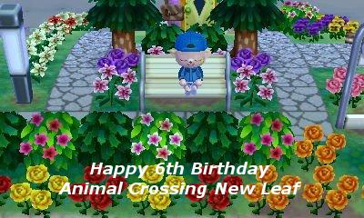 Happy Birthday Animal Crossing New Leaf Happyb11