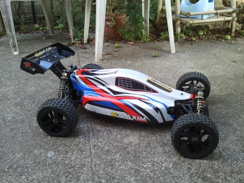 [VENDS] NINCO E MAXIM TT 1/5 BRUSHLESS 4x2s 5000 mha  2012-010
