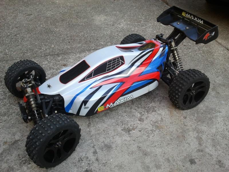 [VENDS] NINCO E MAXIM TT 1/5 BRUSHLESS 4x2s 5000 mha  2012-021