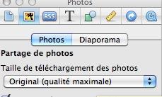 Le poids des images & photos dans iWeb Tazill10