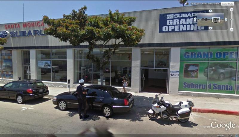 STREET VIEW : Police de la route, Santa Monica, USA Mais_q10