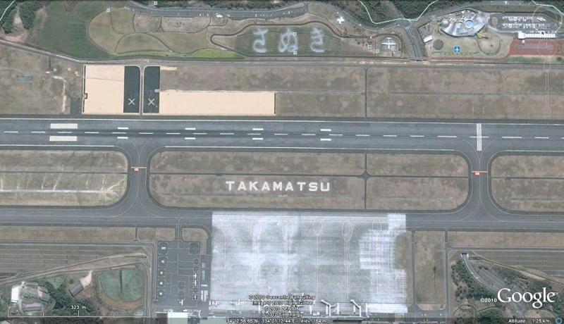 Les inscriptions et écritures sur aérodromes et aéroports - Page 2 Takama10