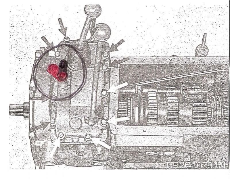U421 ou U406 - Boite G - couvercle de sélection - patte trop courte Numari12