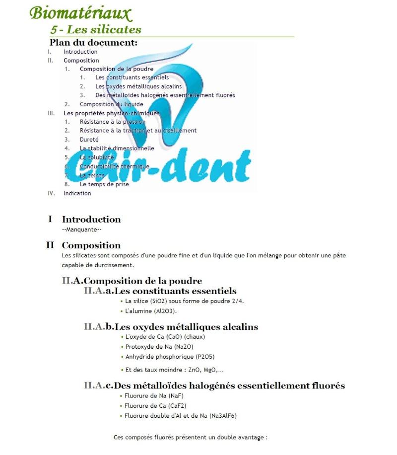 5 - Les silicates Les_si10