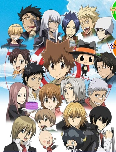 Katekyo Hitman REBORN! <------ THIS anime never gets old i love it soo much  (5/4/10) Kateky10
