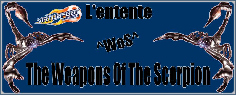 créer un forum : the weapons of the scorpions - Portail Bann111