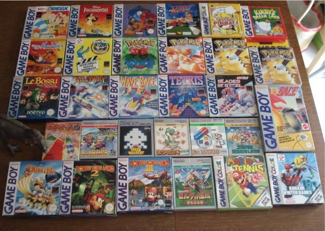 Ma p'tite collec Game Boy / Nintendo / SNK / ARCADE.. [MAJ mai 2013] - Page 2 Dsc01315