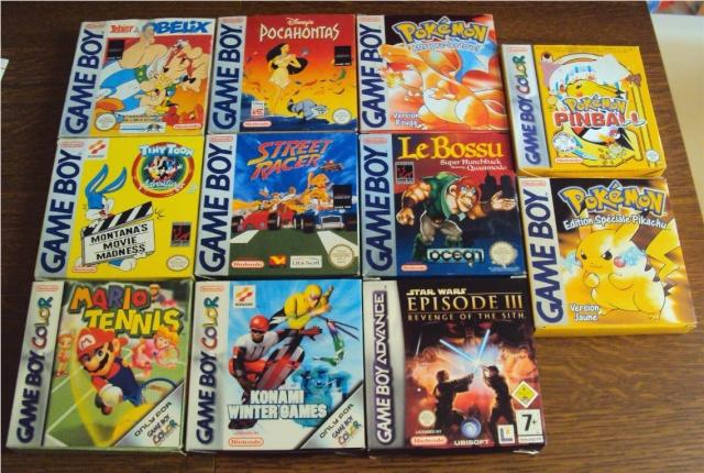 Ma p'tite collec Game Boy / Nintendo / SNK / ARCADE.. [MAJ mai 2013] - Page 2 Dsc02825