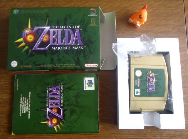 Ma p'tite collec Game Boy / Nintendo / SNK / ARCADE.. [MAJ mai 2013] Zelda_11