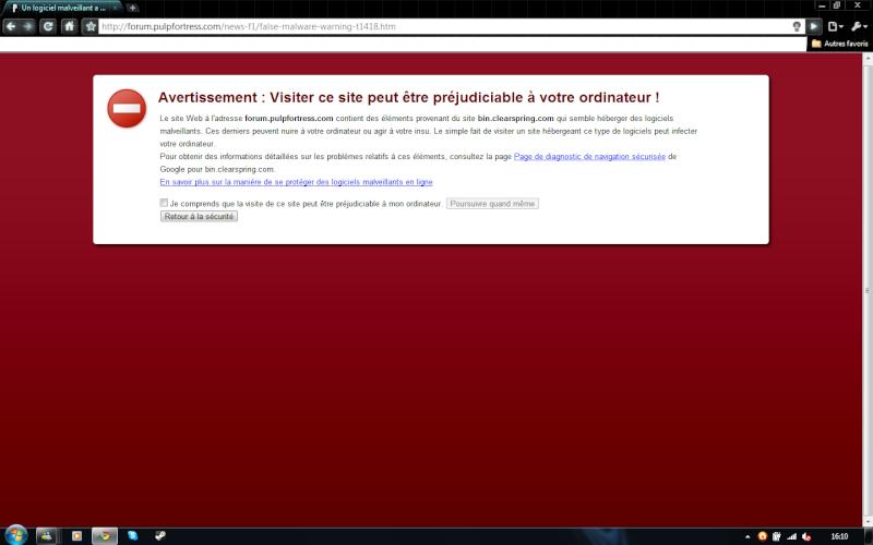 False malware warning Untitl11