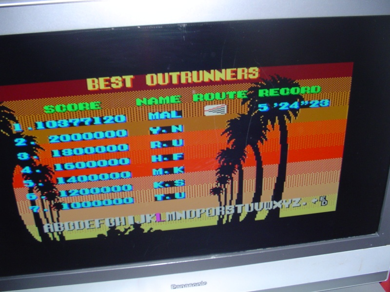 Master system France - guinness record Outrun10