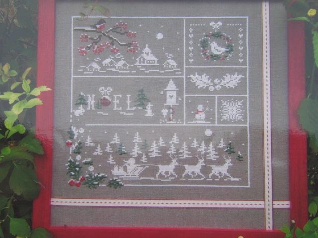 couleur d'étoile Au fil de de Noël 3ème étape brodée 201120 Img_2644