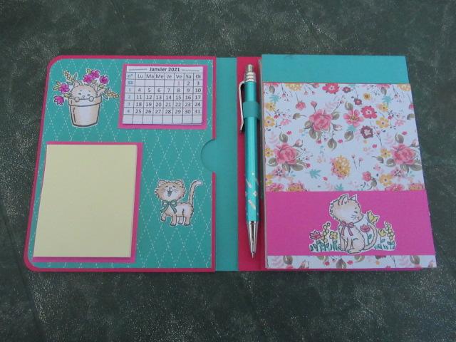 2 nouveaux blocs notes calendrier et Post it Img_5034