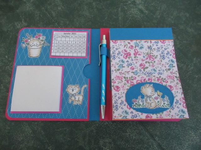 2 nouveaux blocs notes calendrier et Post it Img_5036