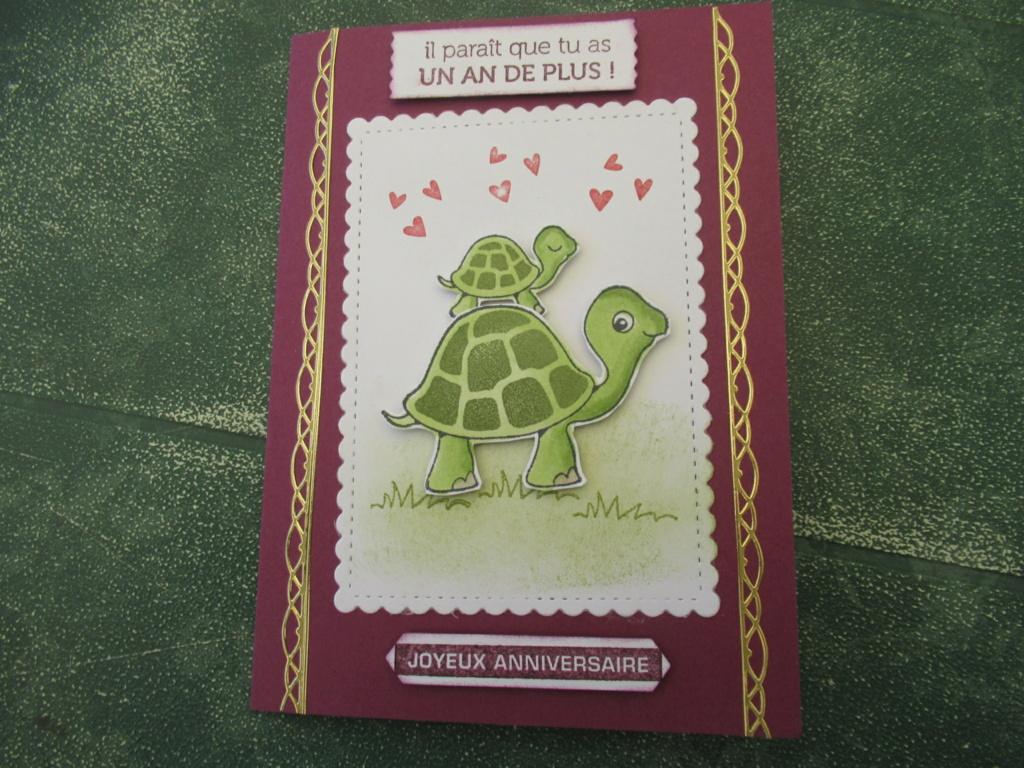Quelques cartes avec nos amies tortues Img_8912