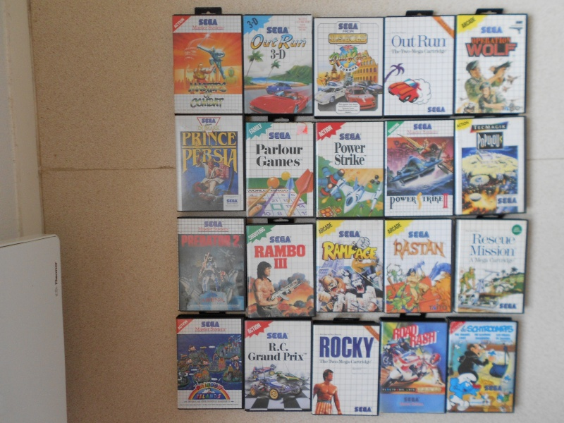 Warriors 33 Collection Sega master System  Photo_19