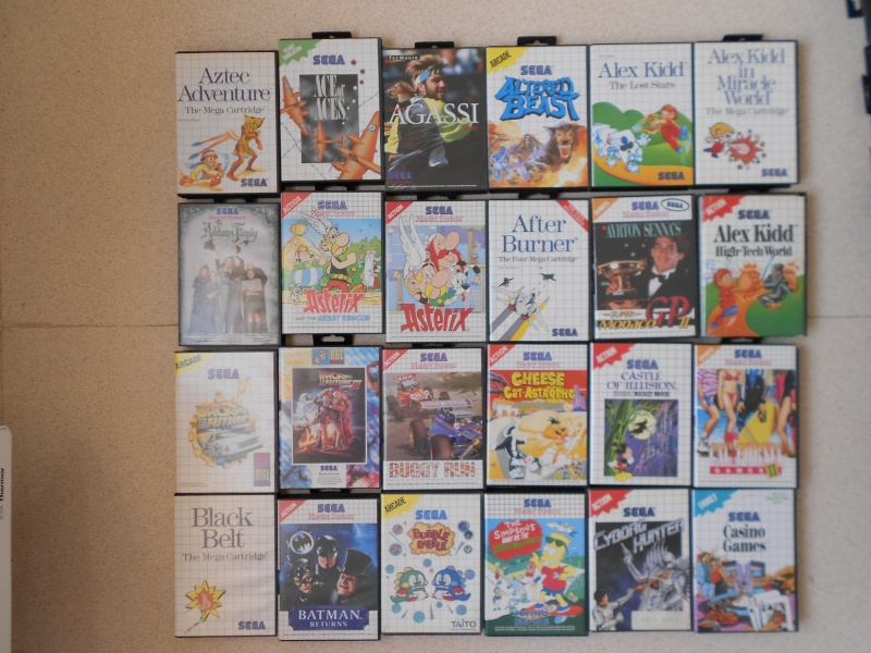 Warriors 33 Collection Sega master System  Photo_20
