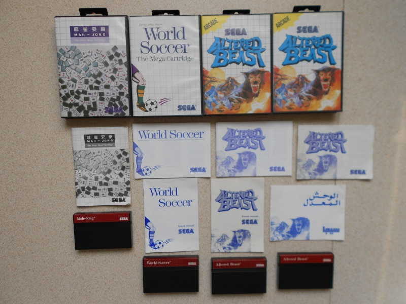 Warriors 33 Collection Sega master System  Photo_30