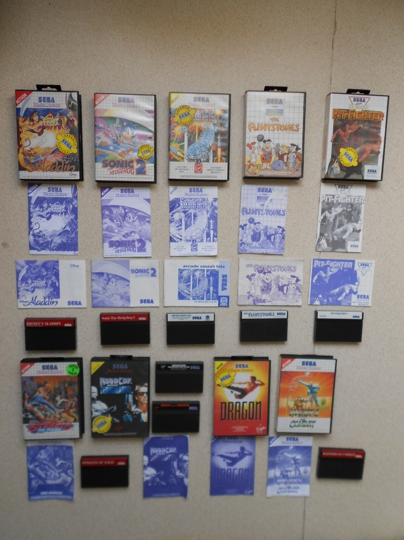Warriors 33 Collection Sega master System  Photo_33