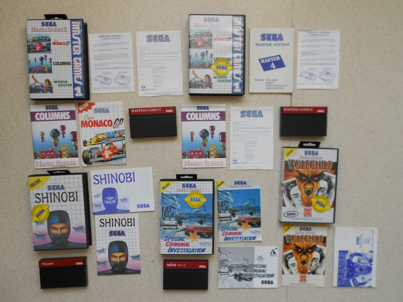 Warriors 33 Collection Sega master System  Photo_34