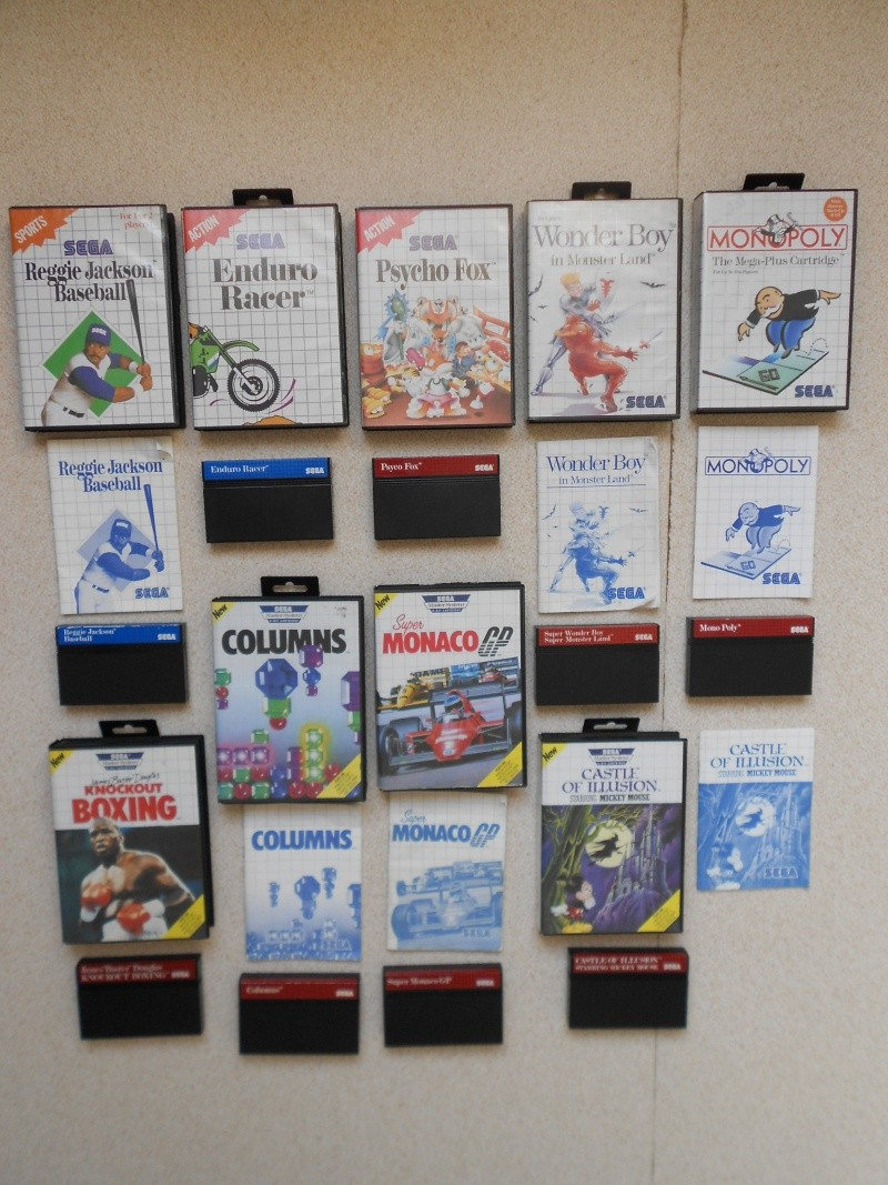 Warriors 33 Collection Sega master System  Photo_36