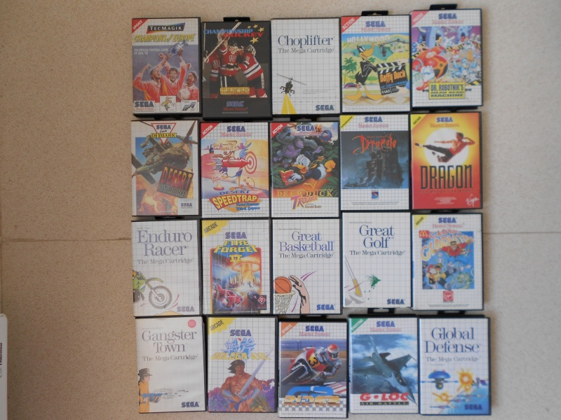 Warriors 33 Collection Sega master System  Photo_37