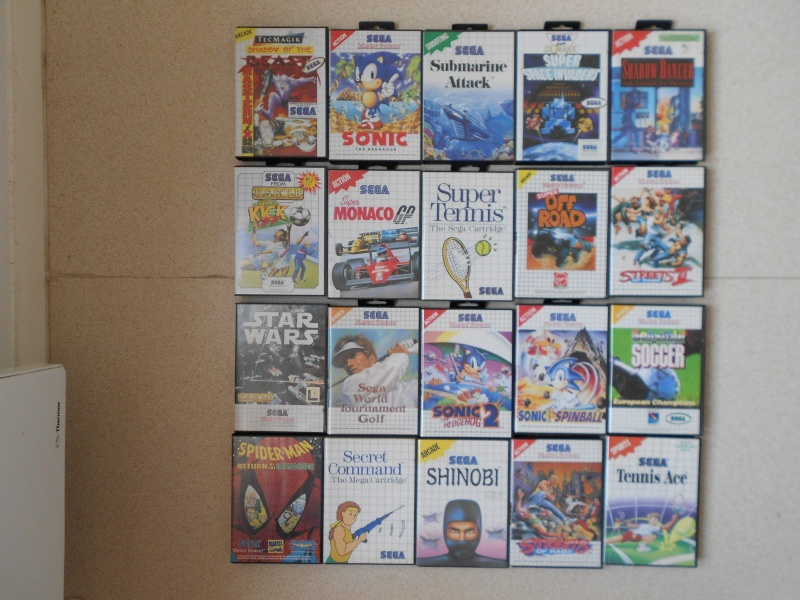 Warriors 33 Collection Sega master System  Photo_38