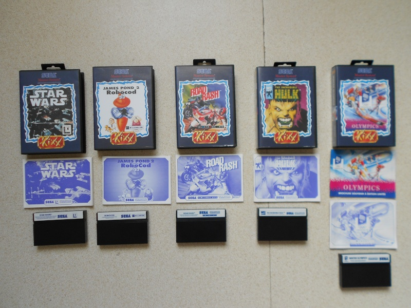 Warriors 33 Collection Sega master System  Photo_43