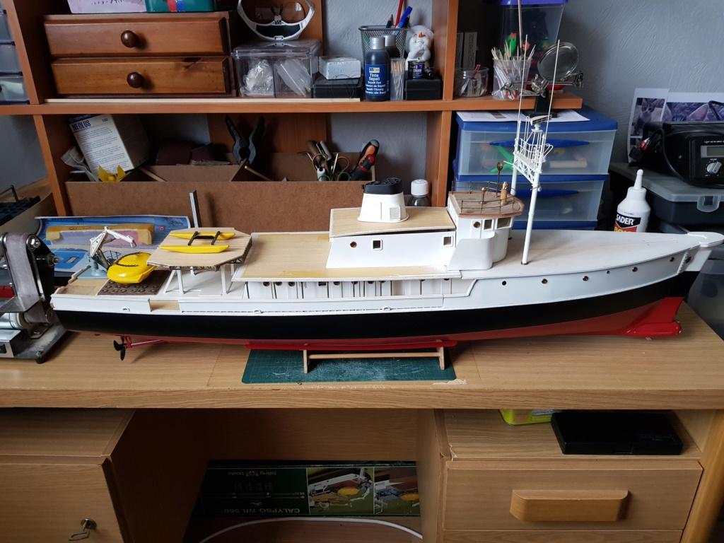 Calypso (restauration Billing Boats 1/45°) par patrick67 20210321