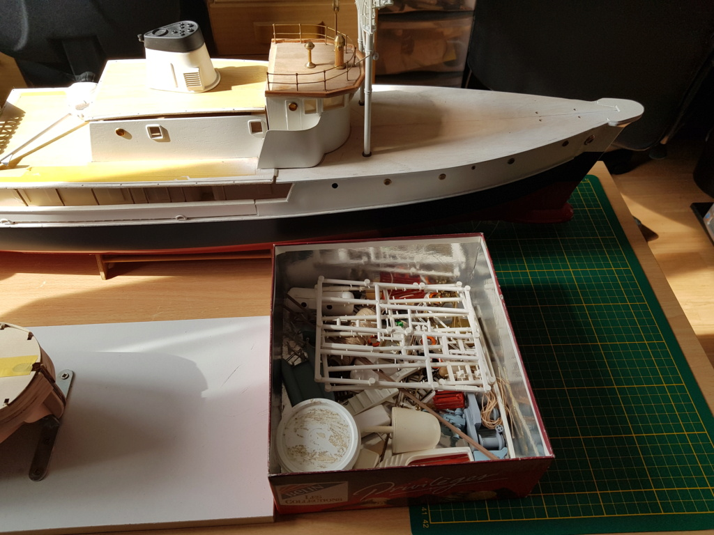 Calypso (restauration Billing Boats 1/45°) par patrick67 20210323