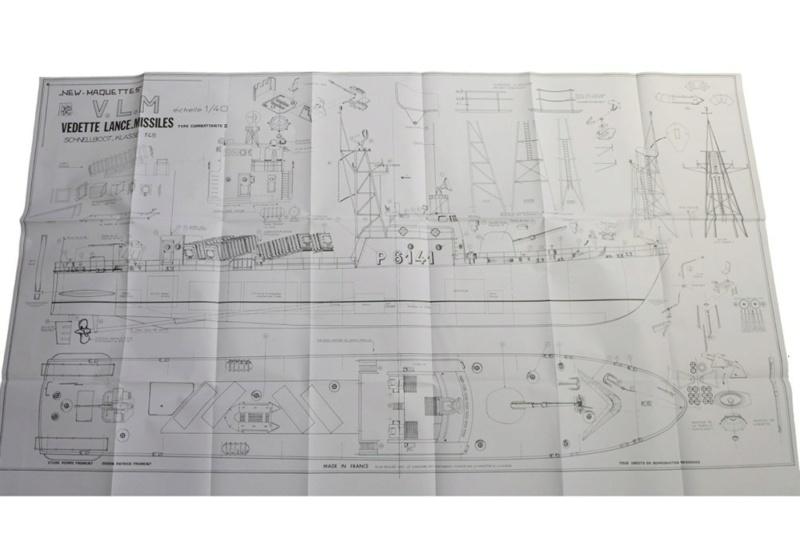 """Le patrouilleur lance-missiles """"P6141"""" classe Tiger au 1/40 new maquettes Newcap10"""