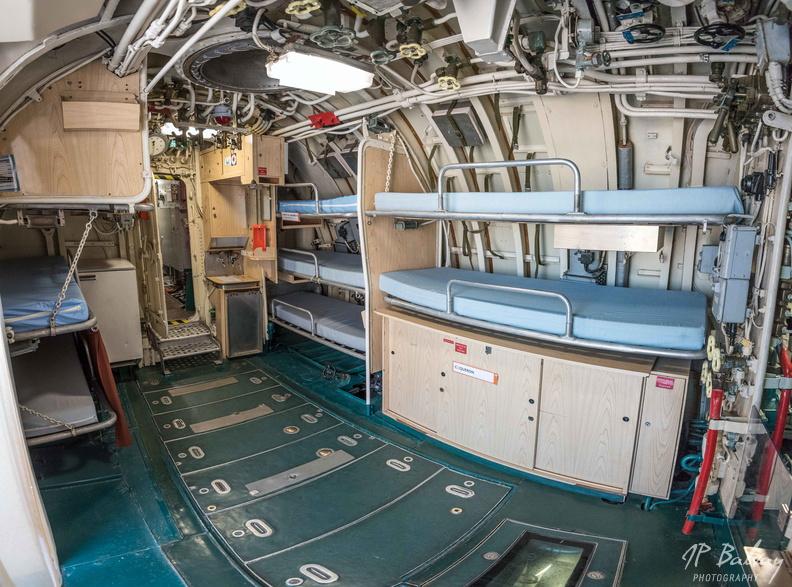 Sous-marin classe Daphné (scratch demi-coque 1/50°) de domicoque - Page 2 Poste_13