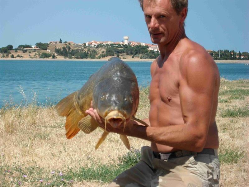 Quelques journées de pêche à Villeneuve de la Raho Carpes12