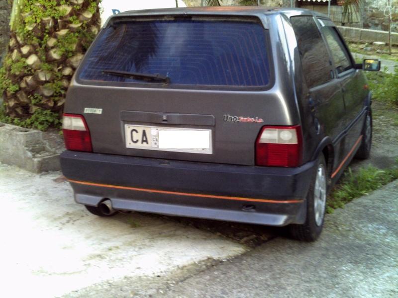 la mia Fiat Uno 1.0 Fire SX 1990 Pict0035