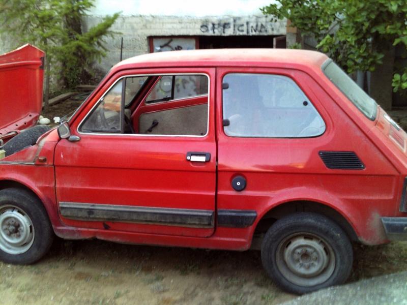 Restauro Fiat 126 Personal 4 Pict0052
