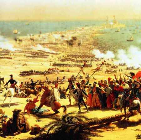 Bataille terrestre d' ABOUKIR Abouki13