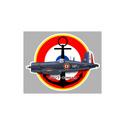 STICKER AVIATION Av00410