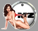 PIN UP MOTO SEXY Mb14510
