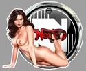 PIN UP MOTO SEXY Na07610