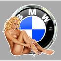 PIN UP MOTO SEXY Pu02411