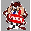 STICKER AUTO L Taz10910