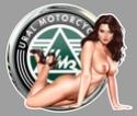 PIN UP MOTO SEXY Ua04110