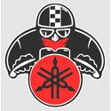 STICKER MOTO Y Ya01510