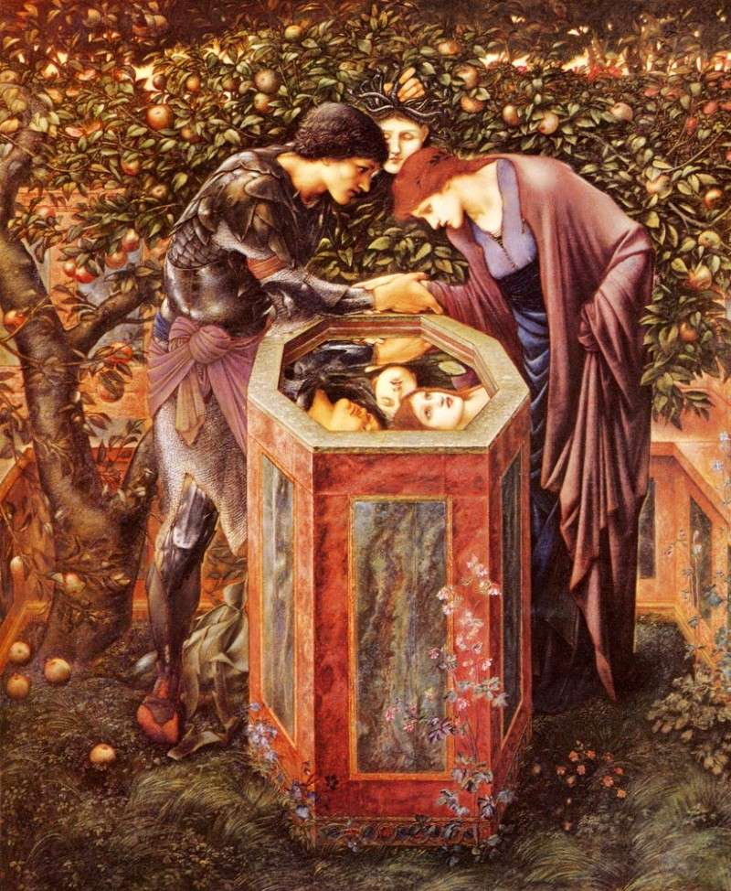 Les Préraphaélites... Burne-10