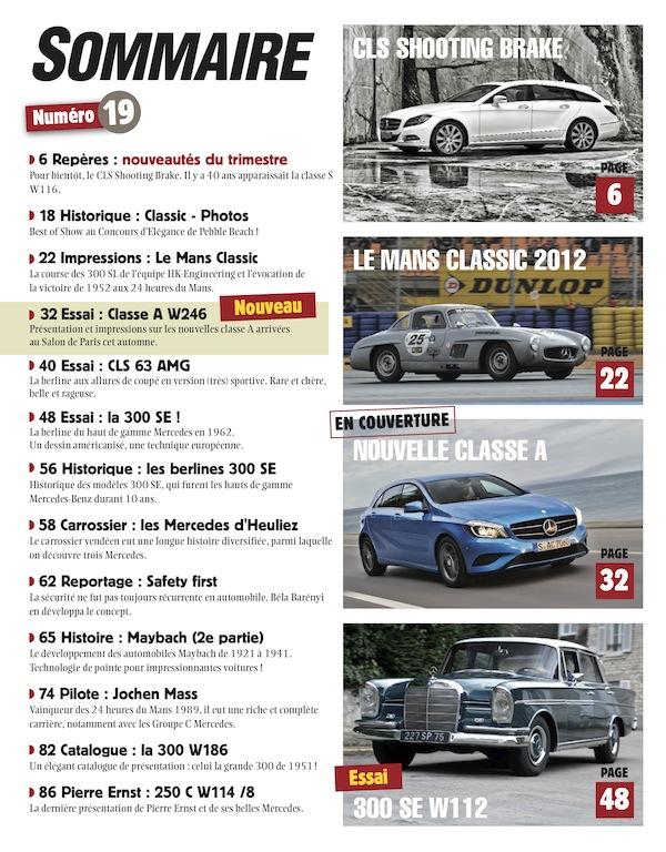 Le magazine Etoile passion Sommai10