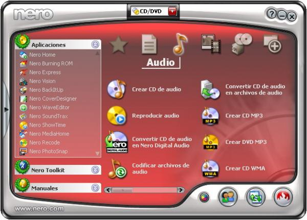 Nero 7 Premium v7.8.5.0 FULL En Español Para El Windows Vista Nero_710