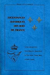 ASCENDANCE DAVIDIQUE DES ROIS DE FRANCE Livre10