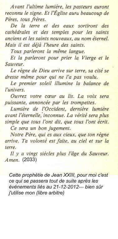 Les Prophéties du bon Pape Jean XXIII ! Qlm6nf10